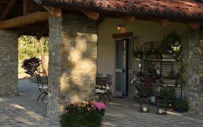 Il patio attrezzato