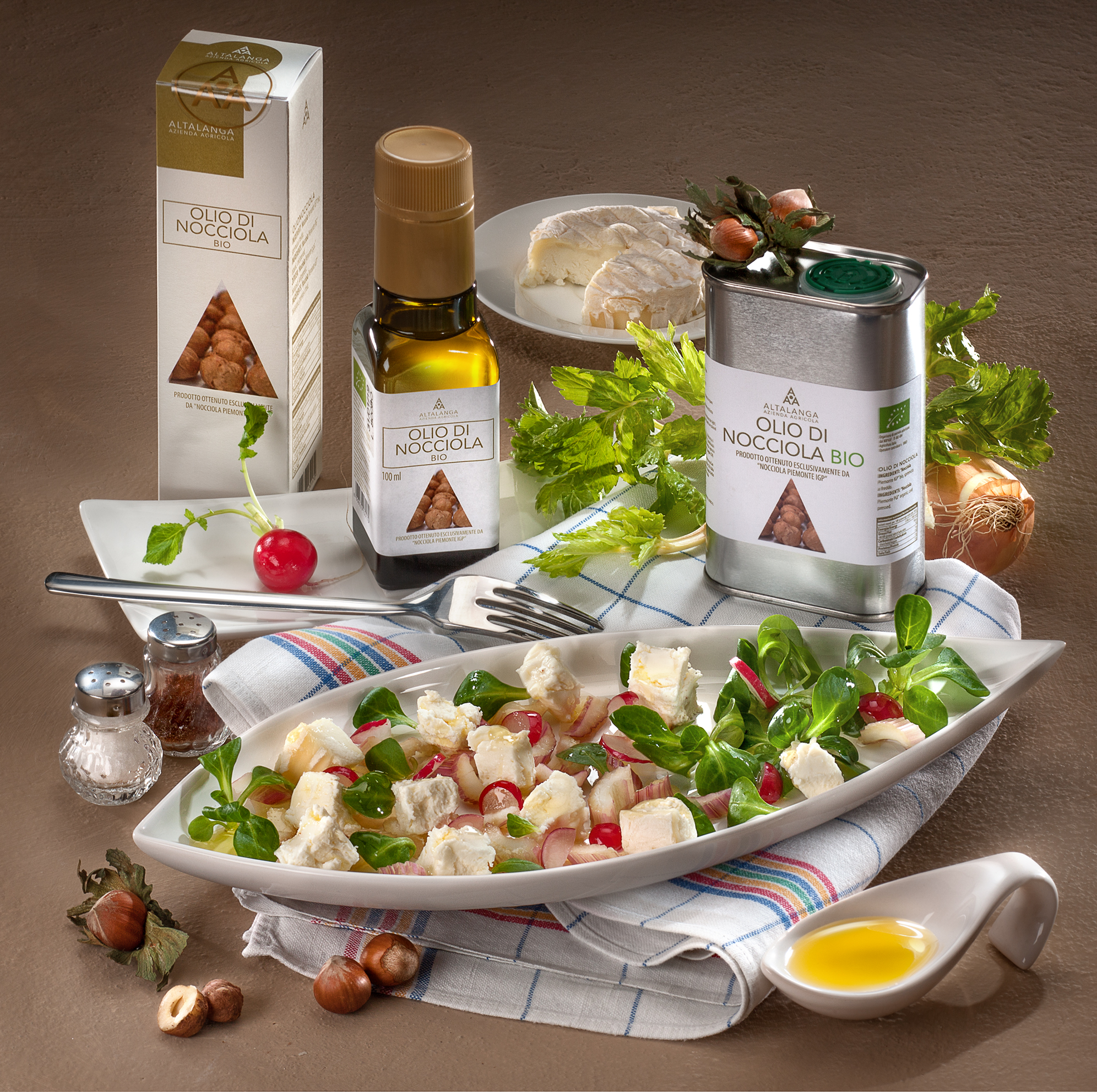 Nocciole Tostate e Salate BIO